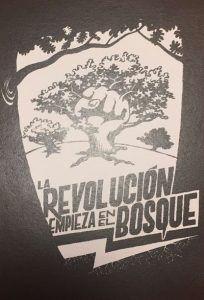 la revolucion empieza en el bosque
