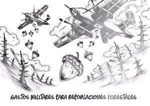 gastos militares para repoblaciones forestales