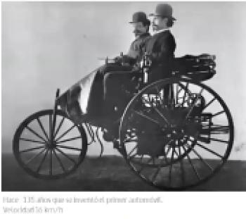 primer vehiculo de explosion